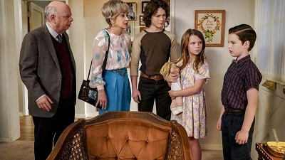 Young Sheldon 02x09 : Family Dynamics and a Red Fiero- Seriesaddict